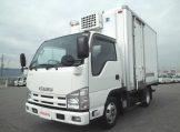 エルフ 標準10尺冷蔵冷凍車 低温設定 サイドドア フルフラットロー 5MTの画像