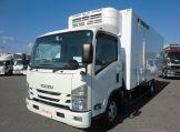 エルフ ワイドロング 冷蔵冷凍車 低温設定 サイドドア 高床 6MTの画像