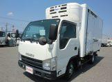 エルフ 10尺冷蔵冷凍車 低温設定 サイドドア フルフラットロー スムーサーEXの画像