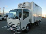 エルフ ワイドロング冷蔵冷凍車 低温設定 スタンバイ サイドドア 6MTの画像